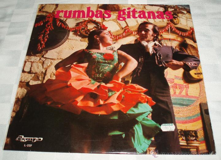 LP RUMBAS GITANAS (Música - Discos - LP Vinilo - Flamenco, Canción española y Cuplé)