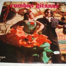 Discos de vinilo: LP RUMBAS GITANAS. Lote 54950878