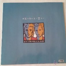 Discos de vinilo: THE REMBRANDTS - JUST THE WAY IT IS, BABY - 1991. Lote 54953143