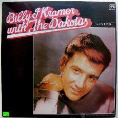 Discos de vinilo: (LENNON/MCCARTNEY) BILLY J KRAMER WITH THE DAKOTAS - LISTEN - LP CFE 1984 BPY. Lote 54953163