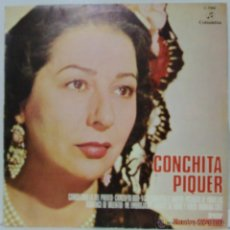 Discos de vinilo: CONCHITA PIQUER ¨PUENTE DE COPLAS¨ - 1974 COLUMBIA C7066. Lote 54953712