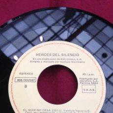 Dischi in vinile: SINGLE.HEROES DEL SILENCIO.EL MAR NO CESA, HÉROE DE LEYENDA.1978.. Lote 43522038