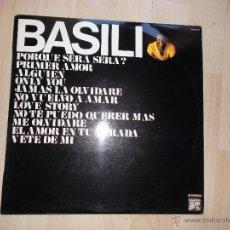 Discos de vinilo: BASILIO - 1977 CAUDAL DISCOS. Lote 54977765