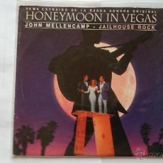 Discos de vinilo: JOHN MELLENCAMP - JAILHOUSE ROCK (BSO/OST 'HONEYMOON IN VEGAS') (PROMO 1993). Lote 54978124