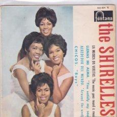Discos de vinilo: THE SHIRELLES - THE MUSIC GOES ROUND AND ROUND - EP 7' 45RPM EDICIÓN ESPAÑOLA DE 1964. 466 804 TE. Lote 54978223