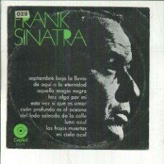 Discos de vinilo: FRANK SINATRA. . Lote 54979755