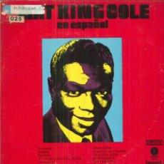 Discos de vinilo: NAT KING COLE (EN ESPAÑOL). Lote 54981197