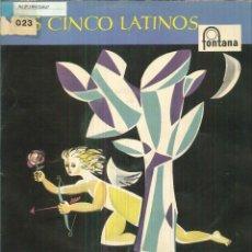 Discos de vinilo: LOS CINCO LATINOS. Lote 54981260