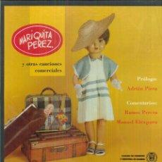 Discos de vinilo: MARIQUITA PÉREZ Y OTRAS CANCIONES COMERCIALES. CÁMARA DE COMERCIO E INDUSTRIA DE MADRID. Lote 54981600