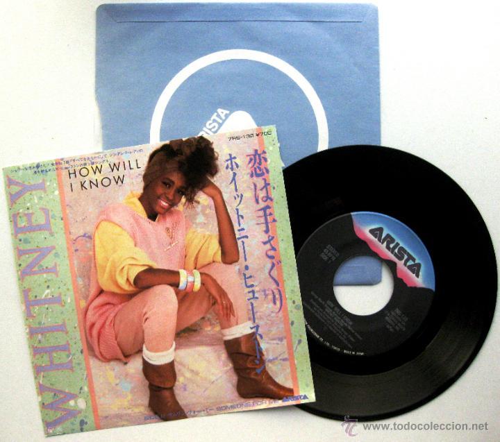 WHITNEY HOUSTON - HOW WILL I KNOW - SINGLE ARISTA 1986 JAPAN BPY (Música - Discos - Singles Vinilo - Funk, Soul y Black Music)
