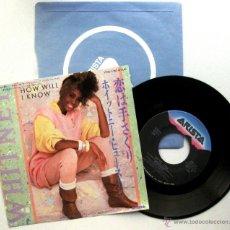 Discos de vinilo: WHITNEY HOUSTON - HOW WILL I KNOW - SINGLE ARISTA 1986 JAPAN BPY. Lote 54981672