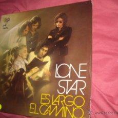 Discos de vinilo: LONE STAR LP LONE STAR ES LARGO EL CAMINO 1972 CARPETA DOBLE PROMOCIONAL VER FOTOS. Lote 54982462