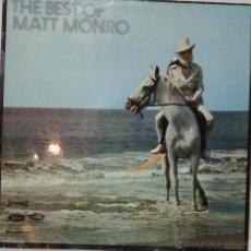 Discos de vinilo: THE BEST OF MATT MONRO - 1969 - CAPITOL RECORDS. Lote 54984045