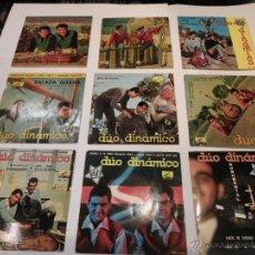Discos de vinilo: DÚO DINAMICO - LOTE DE 12 DISCOS 7 PULGADAS. Lote 54985278