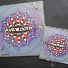 Discos de vinilo: MAXI SINGLE + SINGLE EN MI PRISION ALASKA ( FANGORIA ) Y DINARAMA FIRMADO POR ALASKA Y NACHO. Lote 54985874