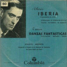 Discos de vinilo: ATAULFO ARGENTA DIRIGIENDO LA ORQUESTA DE LA SOCIEDAD DE CONCIERTOS DEL CONSEVATORIO DE PARIS. Lote 54987741