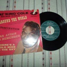 Discos de vinilo: NAT KING COLE AROUND THE WORLD. Lote 54990351