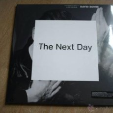 Discos de vinilo: DAVID BOWIE. THE NEXT DAY, DOBLE LP, + CD SONY MUSIC 2013, NUEVO PORTADA DESPLEGABLE 2 LPS. Lote 54990928