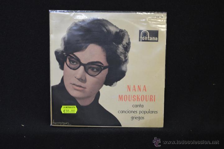 NANA MOUSKOURI - CONTESSA CONTESSINA MOU + 3 - EP (Música - Discos de Vinilo - EPs - Canción Francesa e Italiana)