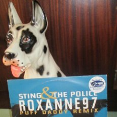 Discos de vinilo: STING AND THE POLICE - ROXANNE 97 PUFF DADDY REMIX. Lote 85671131