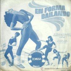 Discos de vinilo: EN FORMA BAIALANDO SINGLE SELLO EDIGSA AÑO 1982 EDITADO EN ESPAÑA PROMOCIONAL. Lote 54999681