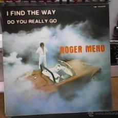 Discos de vinilo: ROGER MENOI FIND THE WAY. Lote 54999729