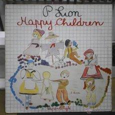 Discos de vinilo: P. LION HAPPY CHIRDREN. Lote 54999866