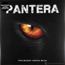 Discos de vinilo: PANTERA-PRELIMINARY GROOVE METAL-DELUXE VINYL EDITION!!! LP-COLORED VINYL. Lote 55008752