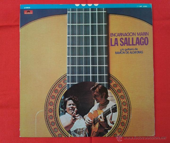 ENCARNACION MARIN LA SALLAGO Y LA GUITARRA DE RAMON DE ALGECIRAS (LP) EDICIÓN JAPONESA (Música - Discos - LP Vinilo - Flamenco, Canción española y Cuplé)