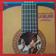 Discos de vinilo: ENCARNACION MARIN LA SALLAGO Y LA GUITARRA DE RAMON DE ALGECIRAS (LP) EDICIÓN JAPONESA. Lote 55012391