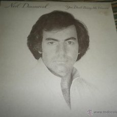 Discos de vinilo: NEIL DIAMOND - YOU DON´T BRING ME FLOWERS LP - ORIGINAL INGLES - CBS 1978 CON FUNDA INT. ORIGINAL -. Lote 55012478