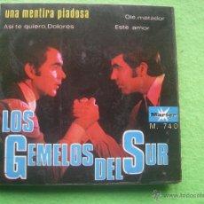 Discos de vinilo: LOS GEMELOS DEL SUR UNA MENTIRA PIADOSA EP MARFER DE 1968. Lote 55012599