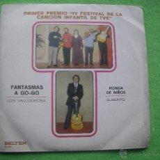 Discos de vinilo: LOS VALLDEMOSA - FANTASMAS A GO-GO / ALBERTO - RONDA DE NIÑOS - BELTER 07.847 - 1970. Lote 55013097