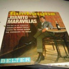 Discos de vinilo: DISCO CHICO 7 PULGADAS DISCO JUANITO MARAVILLAS YO NO LA SE TODAVIA. Lote 55015884