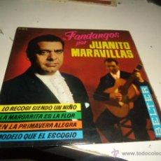 Discos de vinilo: DISCO CHICO 7 PULGADAS DISCO JUANITO MARAVILLAS LO RECOGI SIENDO UN NIÑO . Lote 55016421