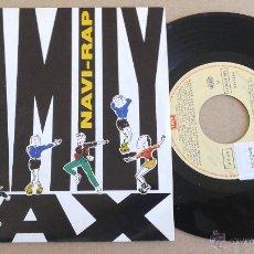 Discos de vinilo: FAMILY FAX / NAVI-RAP (SINGLE PROMO 1990). Lote 55016941