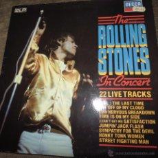 Discos de vinilo: ROLLING STONES - THE ROLLING STONES IN CONCERT. Lote 55017189