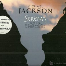 Discos de vinilo: MICHAEL JACKSON & JANET JACKSON MAXI-SINGLE SELLO EMI AÑO 1995 . Lote 55017625