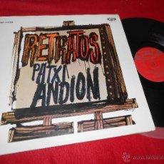 Discos de vinilo: PATXI ANDION RETRATOS LP 1969 MOVIPLAY EDICION ESPAÑOLA GATEFOLD. Lote 269035634