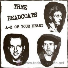 Discos de vinilo: THEE HEADCOATS / BILLY CHILDISH - A-Z OF YOUR HEART (DAMAGED GOODS) . Lote 55020790