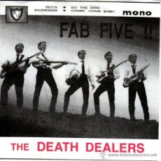 Discos de vinilo: THE DEATH DEALERS - FAB FIVE!! (MAJESTIC SOUND RECORDS - PANEP 003) . Lote 55024170