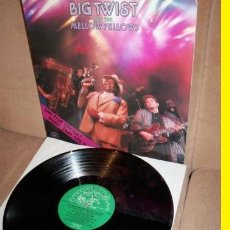 Discos de vinilo: BIG TWIST & THE MELLOW FELLOWS !! LIVE FROM CHICAGO, ORG USA EDIT !!! CHICAGO BLUES , IMPECABLE. Lote 55024174