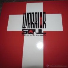 Discos de vinilo: WARRIOR SOUL - DRUGS, GOD AND THE NEW REPUBLIC. Lote 55025037