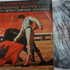 Discos de vinilo: BIZET CARMEN SUITE - DETROIT ORCHESTRA - ESPAÑOL AÑOS 50?. Lote 55034729
