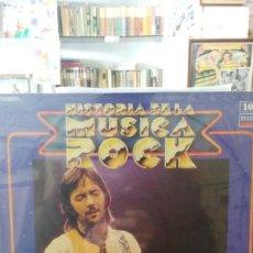 Discos de vinilo: ERIC CLAPTON - HISTORIA DE LA MÚSICA ROCK, Nº 10 . Lote 55036828