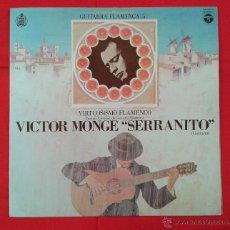 Discos de vinilo: VICTOR MONGE SERRANITO - VIRTUSISMO FLAMENCO (LP) EDICIÓN JAPONESA. Lote 55046754