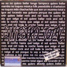 Discos de vinilo: SINIESTRO TOTAL - QUIERO BAILAR UN ROCK & ROLL - MAXI SINGLE 12' (1987). - (DRO - 2D-310). Lote 55046906