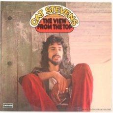 Discos de vinilo: LP-VINILO CAT STEVENS THE VIEW FROM THE TOP ALBUM 2 DISCOS 33 RPM. Lote 55048067