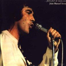 Discos de vinilo: LP-VINILO JOAN MANUEL SERRAT - PARA PIEL DE MANZANA 33 RPM. Lote 55048118