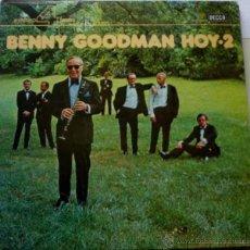 Discos de vinilo: LP-VINILO BENNY GOODMAN HOY.2 33 RPM. Lote 55048165